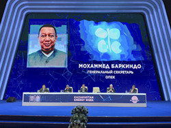 OPEC Secretary General participated in the 12th Kazenergy Eurasian Forum, in Nur-Sultan, Kazakhstan