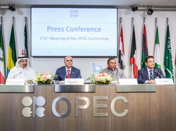 A press conference was held at the OPEC Secretariat in Vienna, following the 176th Meeting of the OPEC Conference