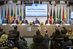 The Joint Press Conference took place at the OPEC Secretariat in Vienna, Austria