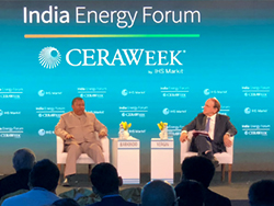 The 2nd India Energy Forum by CERA Week took place in New Delhi, India