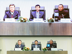 The 5th OPEC and non-OPEC Ministerial Meeting took place at the OPEC Secretariat in Vienna, Austria