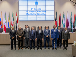 Group photo of OPEC and non-OPEC Ministers taken at the 6th JMMC Meeting in Vienna