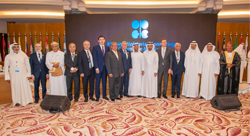 Group photo of OPEC and non-OPEC officials, taken at the 8th meeting of the JMMC in Jeddah
