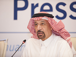 HE Khalid A. Al-Falih, Saudi Arabia's Minister of Energy, Industry and Mineral Resources; and Chairman of the JMMC