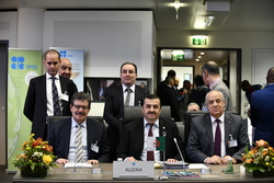 Algeria's delegation, headed by HE Mohamed Arkab, Minister of Energy and President of the OPEC Conference