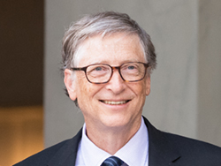 Mr. Bill Gates, Microsoft co-founder and prominent philanthropist