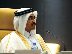 HE Al-Sada, President of the Conference