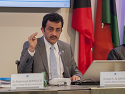 Dr. Ayed S. Al-Qahtani, Director of OPEC's Research Division