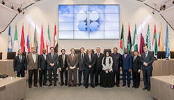 Group picture of OPEC's Governors at the Secretariat