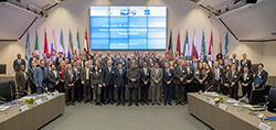 Group photo of the workshop participants taken at the OPEC Secretariat