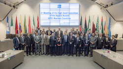 Group picture of OPEC Member Countries' participants and OPEC's Secretariat staff