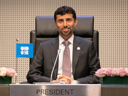 HE Suhail Mohamed Al Mazrouei, UAE Minister of Energy and Industry; and President of the OPEC Conference
