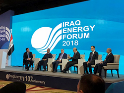 OPEC's Secretary General, offered brief introductory remarks about current oil market developments, at the 4th Iraq Energy Forum, in Baghdad