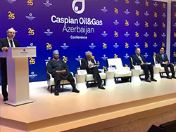 HE Barkindo, OPEC Secretary General, pictured during the 25th International Caspian Oil and Gas Exhibition and Conference in Baku, Azerbaijan