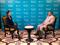 HE Barkindo, OPEC Secretary General, was interviewed by CNBC in New Delhi