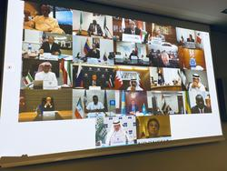 The meeting was held via videoconference