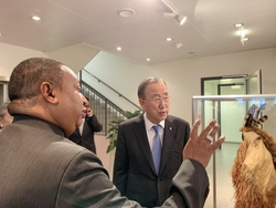 HE Mohammad Sanusi Barkindo, OPEC Secretary General, and HE Ban Ki-moon, former UN Secretary General