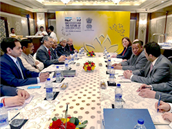 HE Pradhan and HE Barkindo underscored the growing cooperation between India and OPEC, during their meeting