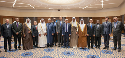 OPEC Ministers with the Secretary General