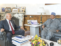 OPEC Secretary General (right) with OFID Director-General