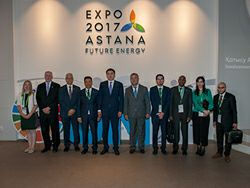 OPEC Secretariat delegation attends OPEC's 'Special Day' at the Expo2017 in Astana