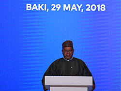 HE Mohammad Sanusi Barkindo, OPEC Secretary General, delivers his remarks