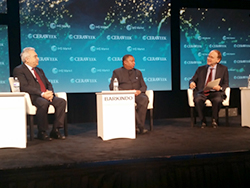 HE Mohammad Sanusi Barkindo, OPEC Secretary General (c); Dr. Fatih Birol, IEA Executive Director (l); and Mr. Daniel Yergin, Vice Chairman, IHS Markit, and Chairman of CERAWeek