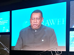 HE Mohammad Sanusi Barkindo, OPEC Secretary General at CERAWeek