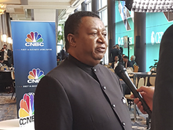 HE Mohammad Sanusi Barkindo, OPEC Secretary General, was interviewed by CNBC at CERAWeek 2019 in Houston, Texas