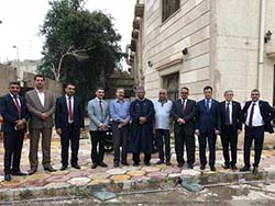 HE Mohammad Sanusi Barkindo, OPEC Secretary General, and an OPEC delegation visited the Organization's birthplace at Al-Shaab Hall in Baghdad in March 2018
