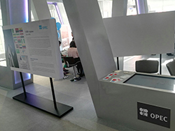 OPEC's stand at Expo 2017, Astana