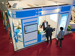 OPEC's stand at the exhibition