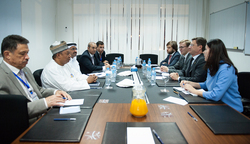 OPEC Conference President and Secretary General met with the Russian Energy Minister