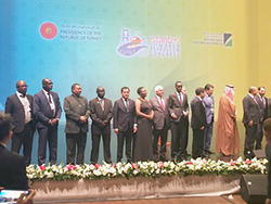 HE Mohammad Sanusi Barkindo, OPEC Secretary General, at the opening ceremony of the 22nd WPC in Istanbul