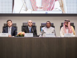 The opening session of the 6th OPEC and non-OPEC Ministerial Meeting took place at the OPEC Secretariat in Vienna, Austria