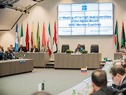 1st Meeting of the High-level Committee of the Algiers Accord takes place at the OPEC Secretariat