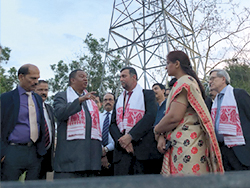 HE Mohammad Sanusi Barkindo, OPEC Secretary General (second l), visited India's historic Digboi refinery and first oil well