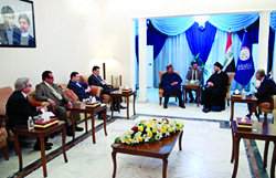 HE Barkindo and his delegation meet with HE Sayyid Ammar Al-Hakim, Head of the Iraqi National Alliance