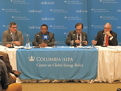 HE Mohammad Sanusi Barkindo, OPEC Secretary General, at the CGEP panel discussion