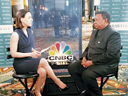 HE Barkindo, OPEC Secretary General, was interviewed by CNBC at CERAWeek