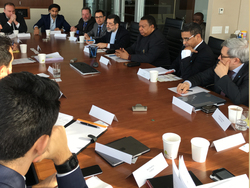 OPEC Secretary General and Secretariat staff visit IHS/Markit in New York