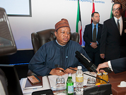 HE Mohammad Sanusi Barkindo, OPEC Secretary General, at the 2nd meeting of the Joint Ministerial Monitoring Committee