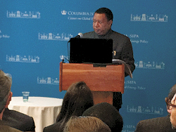 HE Mohammad Sanusi Barkindo, OPEC Secretary General, delivers his keynote speech
