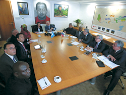 HE Martínez meets with OPEC Secretary General and his team