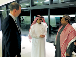 OPEC Secretary General tours the premises of KAPSARC in Riyadh