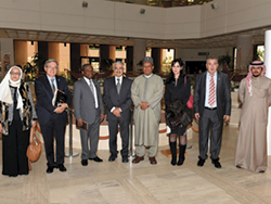 HE Barkindo visits Kuwait's Foundation for the Advancement of Sciences (KFAS)