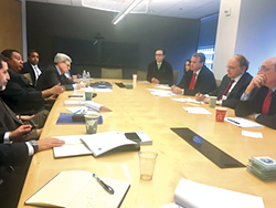 HE Barkindo meets with Dr. Daniel Yergin, Vice Chairman of IHS Markit and senior staff members