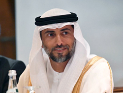 HE Suhail Mohamed Al Mazrouei, UAE's Minister of Energy and Industry
