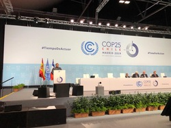 COP 25 was held in Madrid, Spain