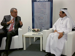 OPEC Conference President with Venezuela's People's Minister of Petroleum (right to left)